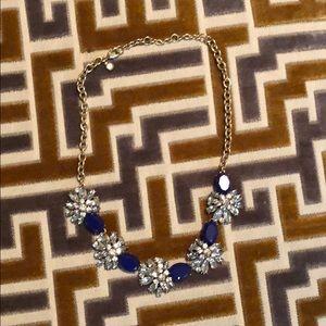 J.Crew blue necklace